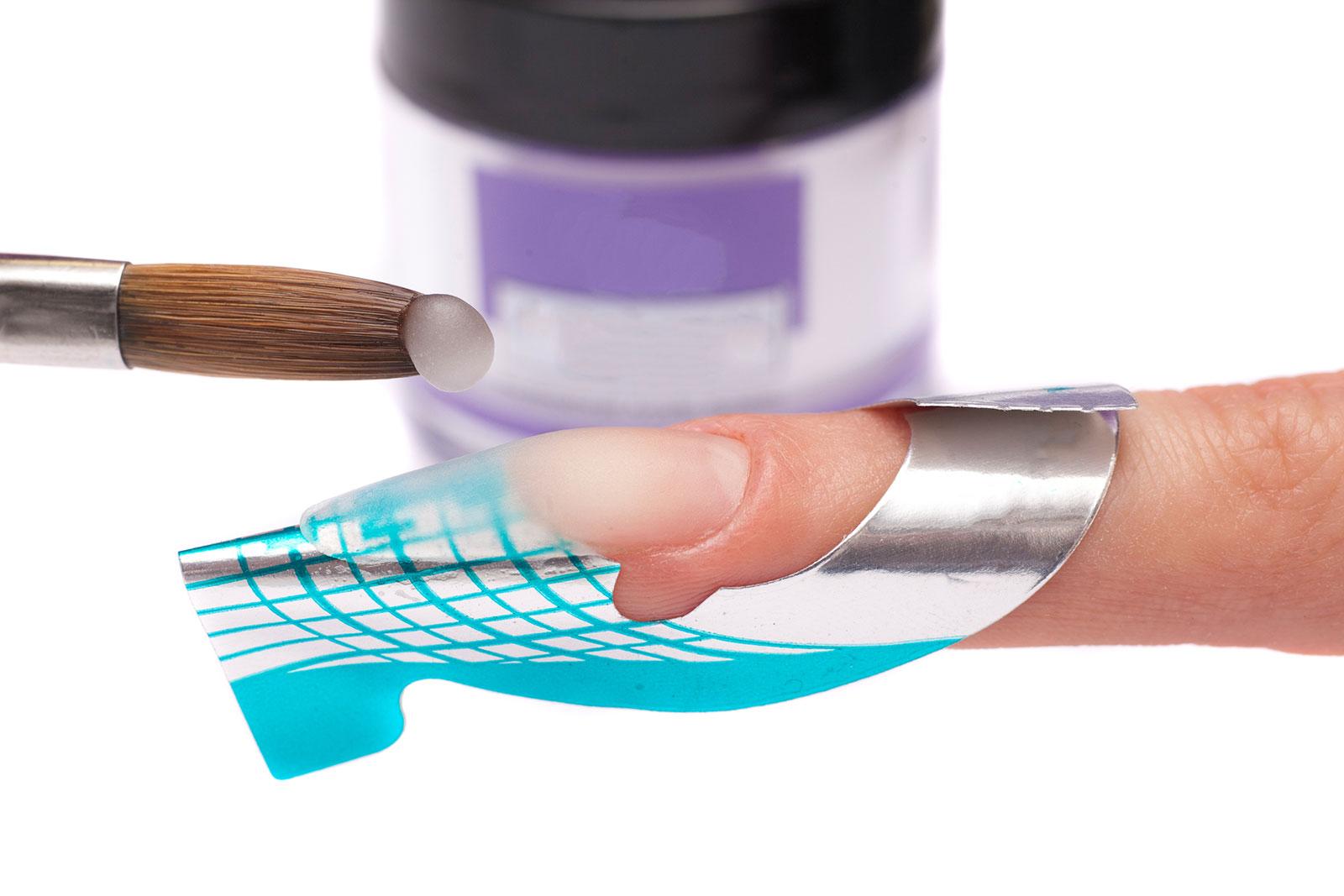 Acrylic Form Nails