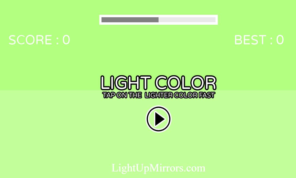Makeup Light Color Game