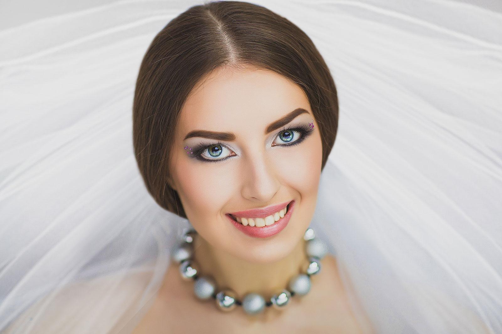 Extravagant Eyes wedding eye makeup