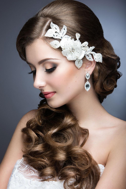 Gradient Eyeshadow Wedding Makeup