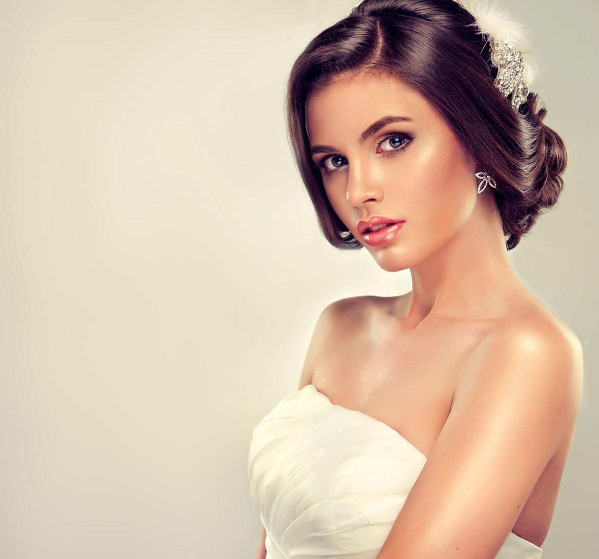 Natural Glow natural wedding makeup