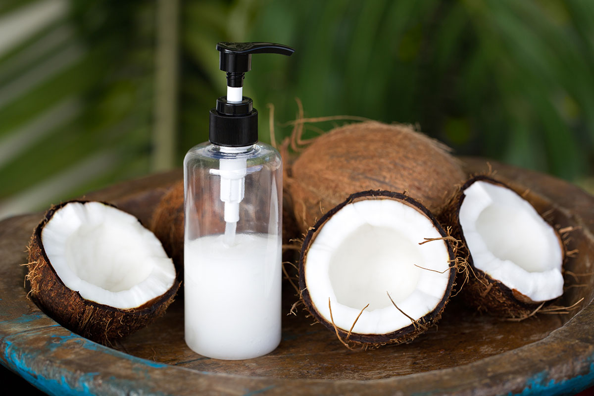 Coconut oil Natural beauty tip