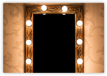 Light Up Mirrors Hollywood Mirrors Light Bulb Mirror Kit