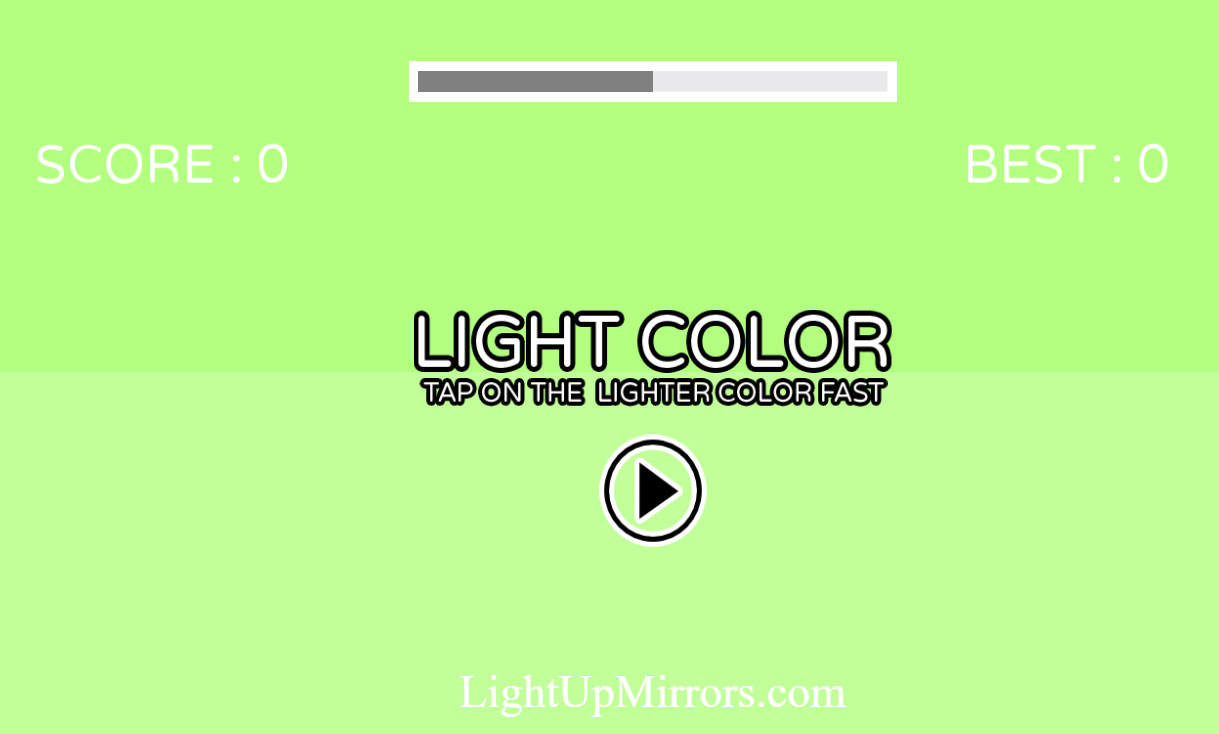 Makeup Light Color Game