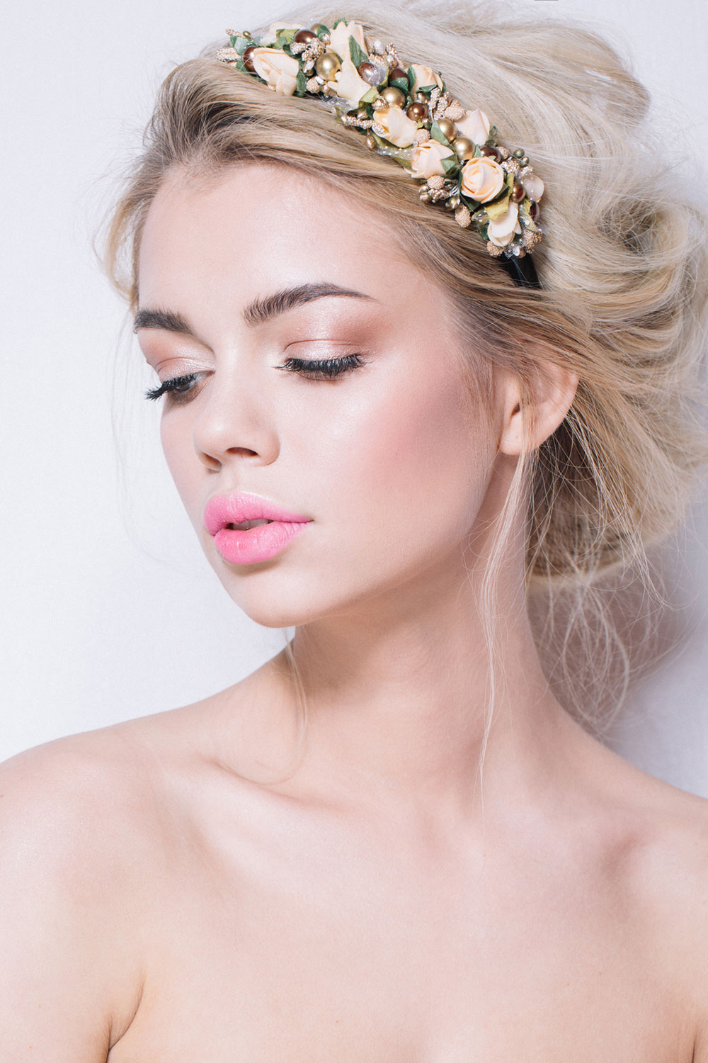 Light Pink Lippy Bridal Makeup
