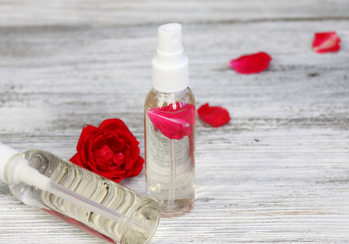Rose Water Natural Beauty Tip